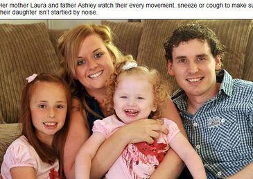 vivir en silencio para que su hija no sufra ataques