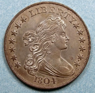 Image of an 1804 $1 coin