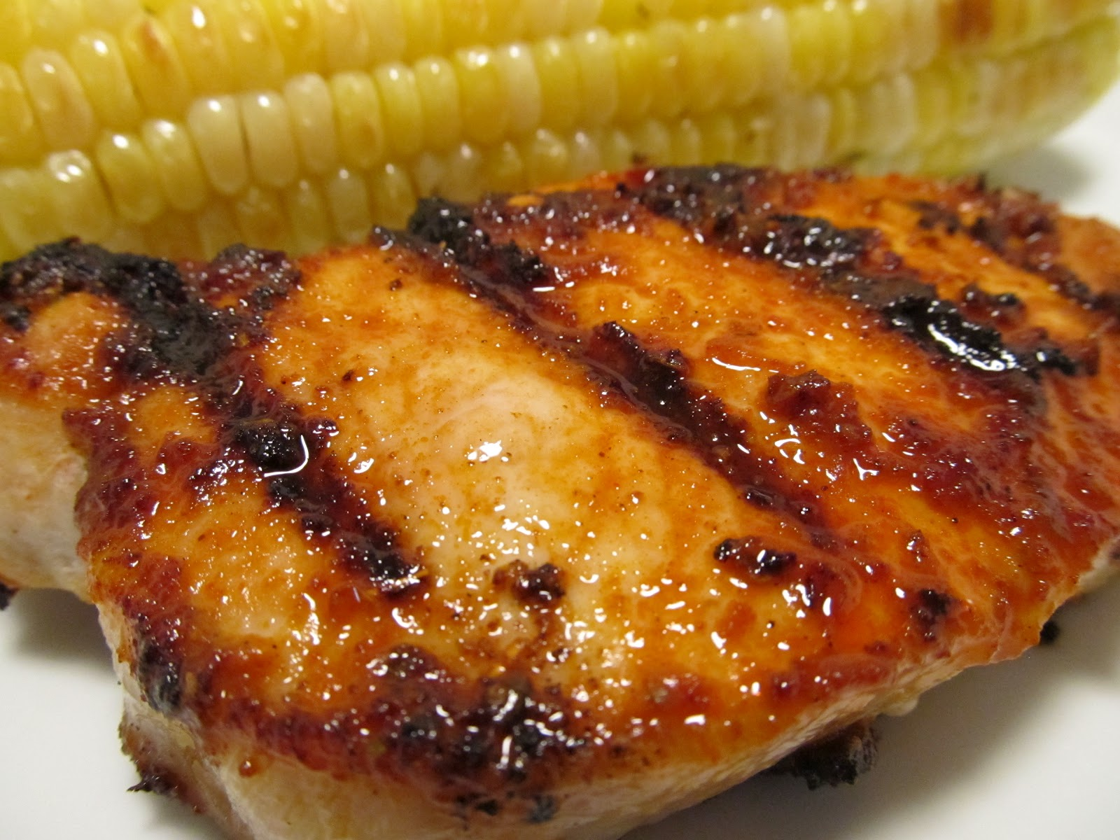 Grilled Pork Chops with Adobo Paste