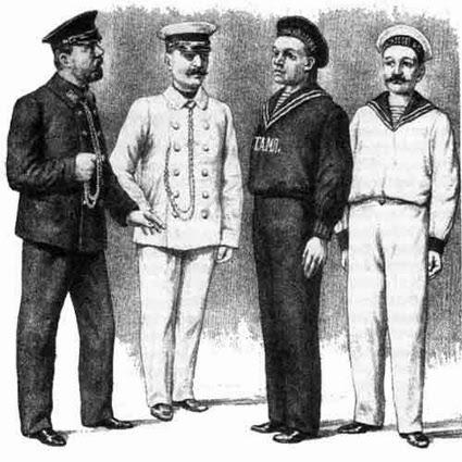 форма одежды торгового флота россии фото