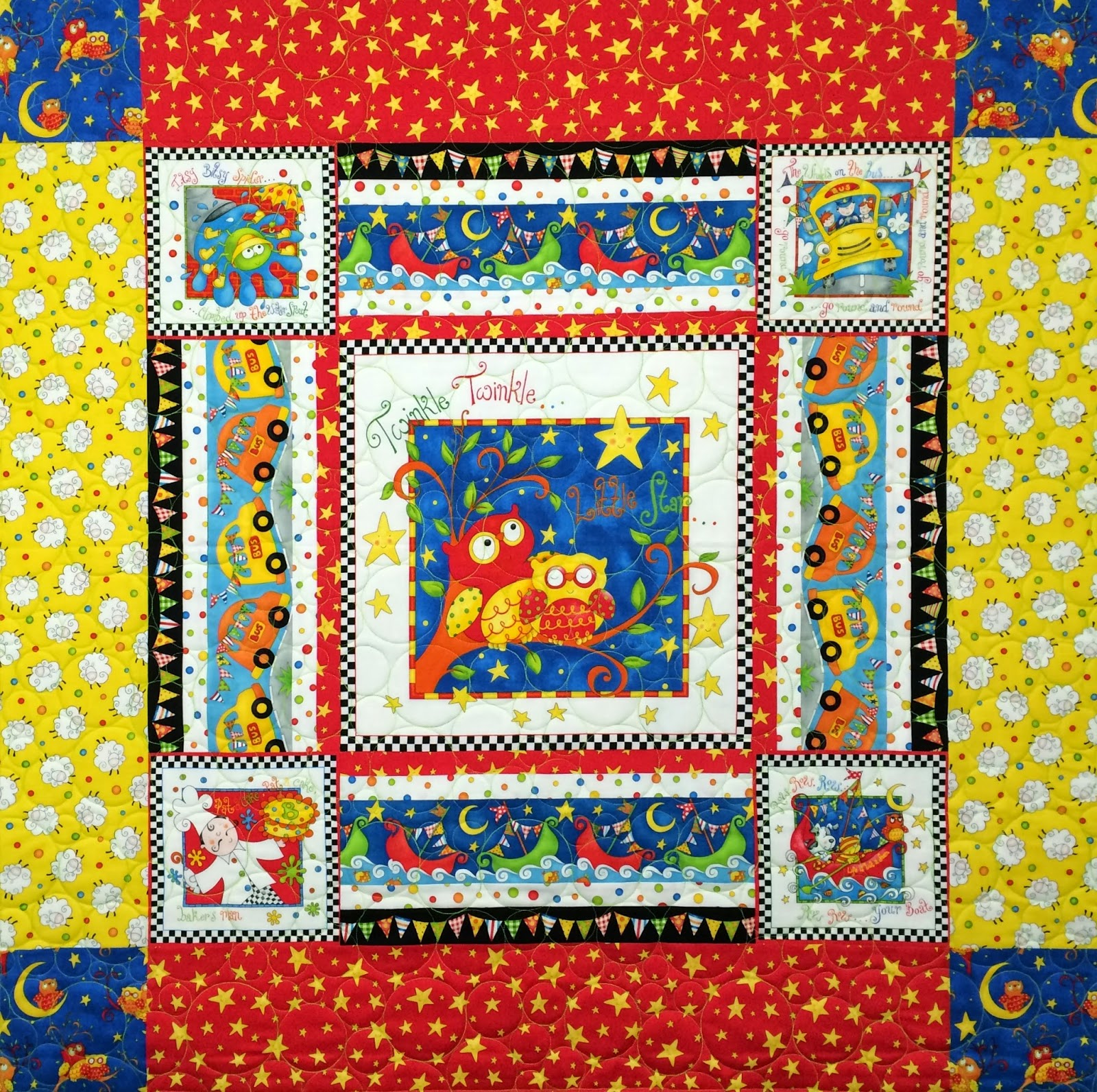 Mette Brown's Nursery Rhymes Quilt