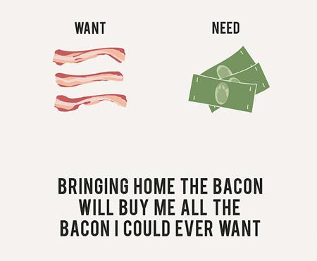 Lo que queremos Vs. Lo que necesitamos