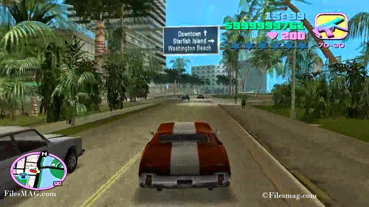 Free Download GTA Vice City