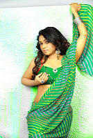 Actres Vaishali in Saree