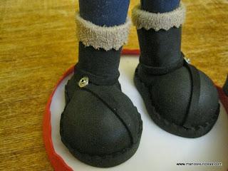 botas fofucha