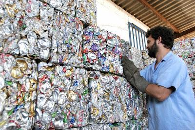 Autossustentável: Reciclagem de Alumínio