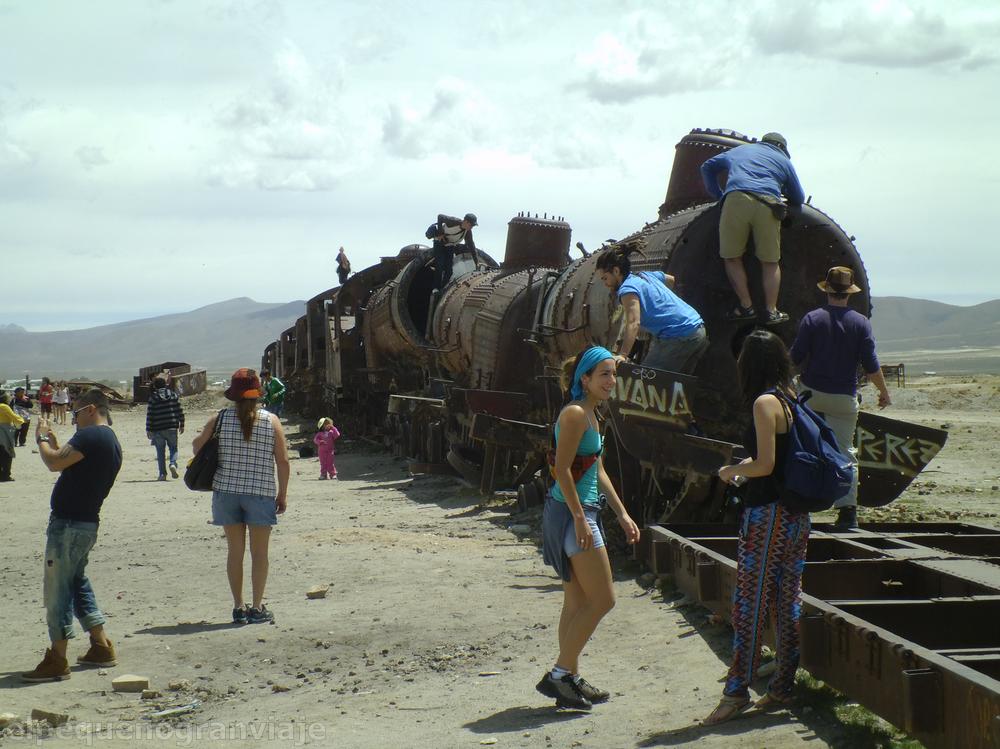cementerio, trenes, Uyuni