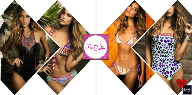 [Agua y Sal Beachware]  Bikinis & Monokinis    L-vi.com