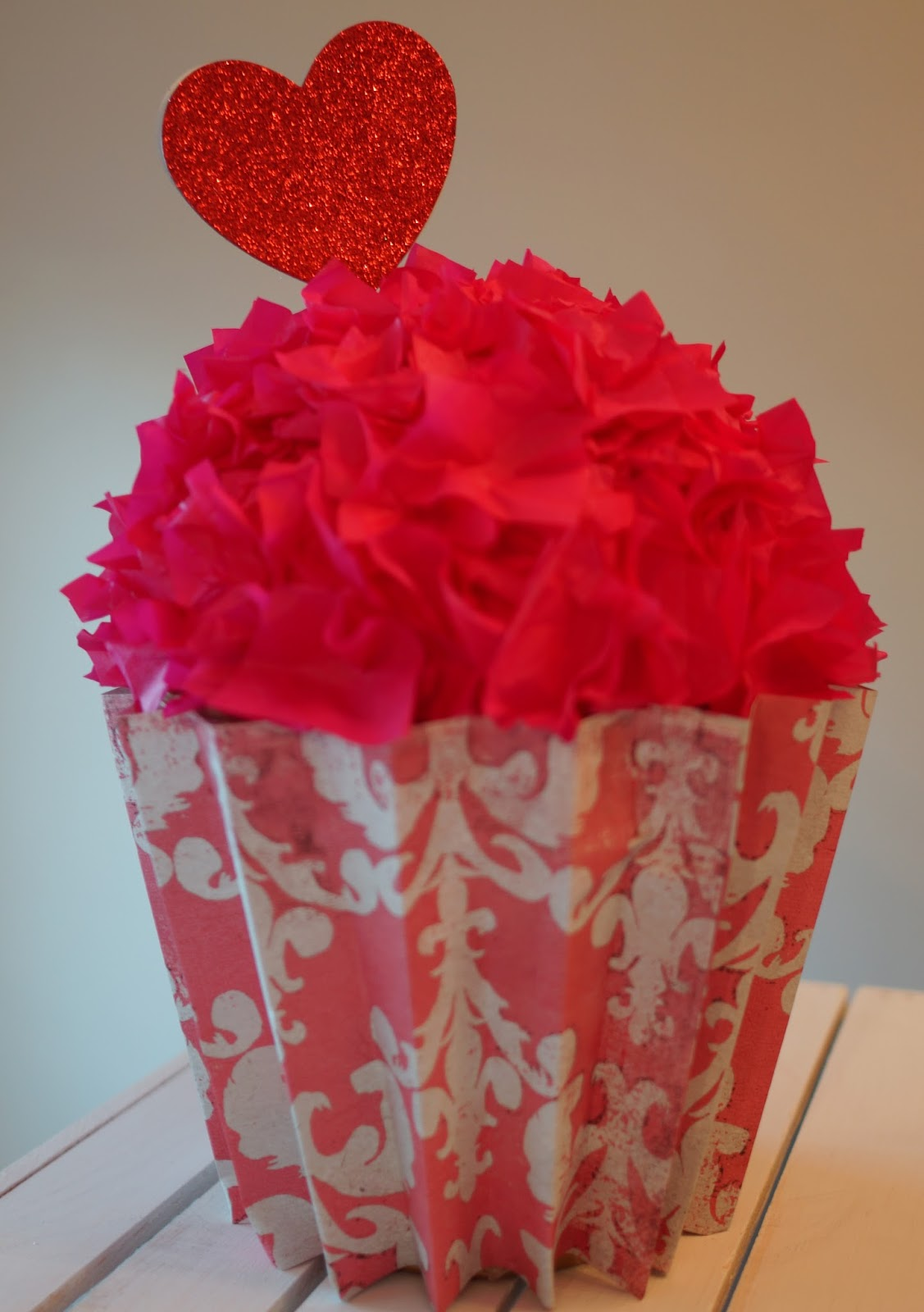 cupcake valentine box - Cupcake Valentine Box
