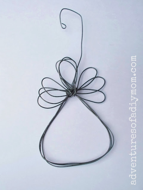 DIY Wire Angel Ornament