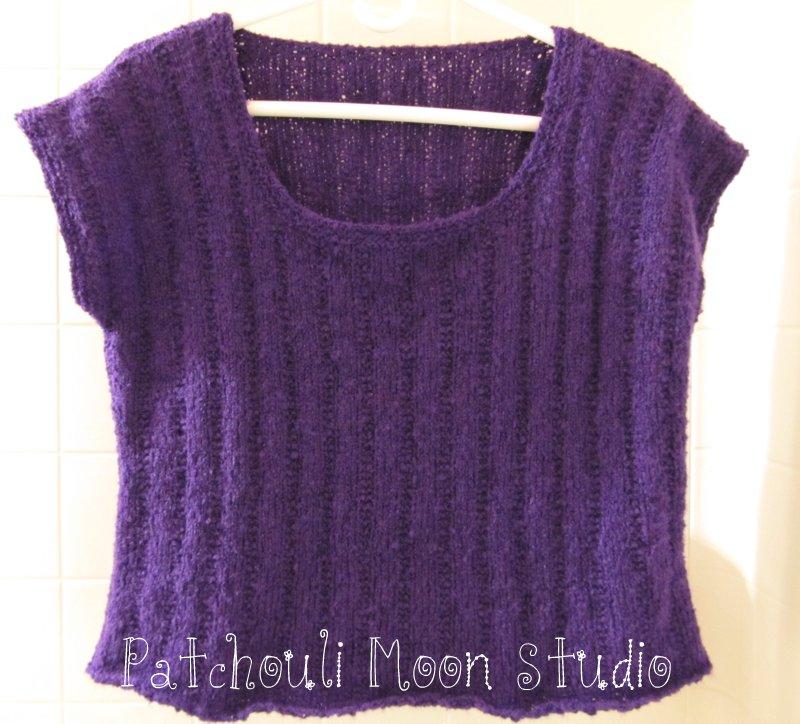 Patchouli Moon Studio: Knit Tee Shirt