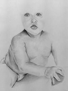 Bebê (desenho realista)