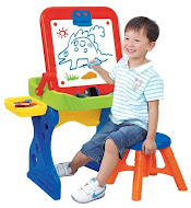 New Crayola First Art Studio Easel,RM145 only!!!