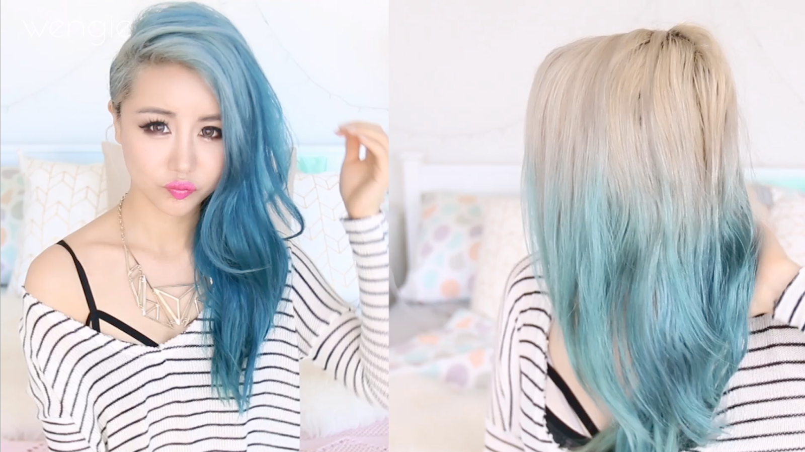 Removing Teal Hair Color