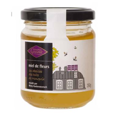 positive eating positive living le miel de paris les abeilles des toits de monoprix. Black Bedroom Furniture Sets. Home Design Ideas