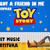 You've Got a Friend in Me (Amigo estou Aqui) - R. Newman - Partitura para Teclado (com cifra)