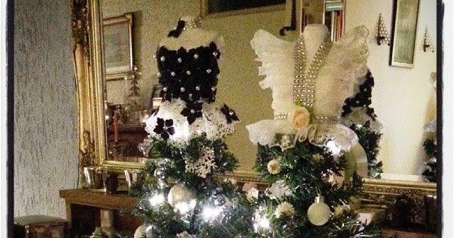 kerst jurk paspop