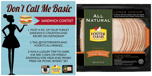 Foster%2BFarms%2BContest%2BPromo Weight Loss Recipes New Product Alert: Foster Farms All Natural Sliced Turkey
