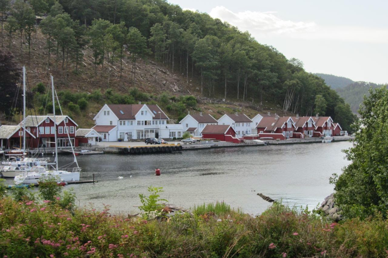 Noorwegen camping Fister
