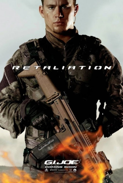 G.I. Joe retaliation poster Channing Tatum