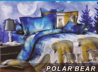 Sprei Fata Polar Bear