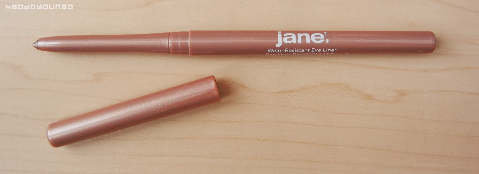 Review & Swatches: Jane Cosmetics Water-Resistant Eye Liner in ...