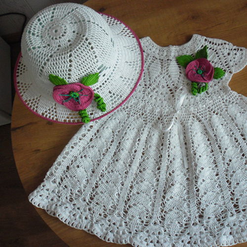 Summer Dress & hat for Baby