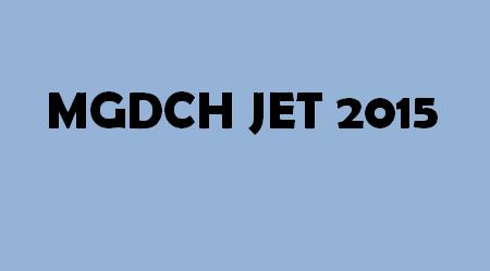 MGDCH JET 2015 Logo