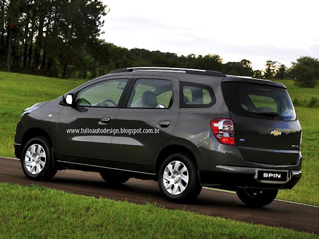 Retoques Visuais – Chevrolet Spin