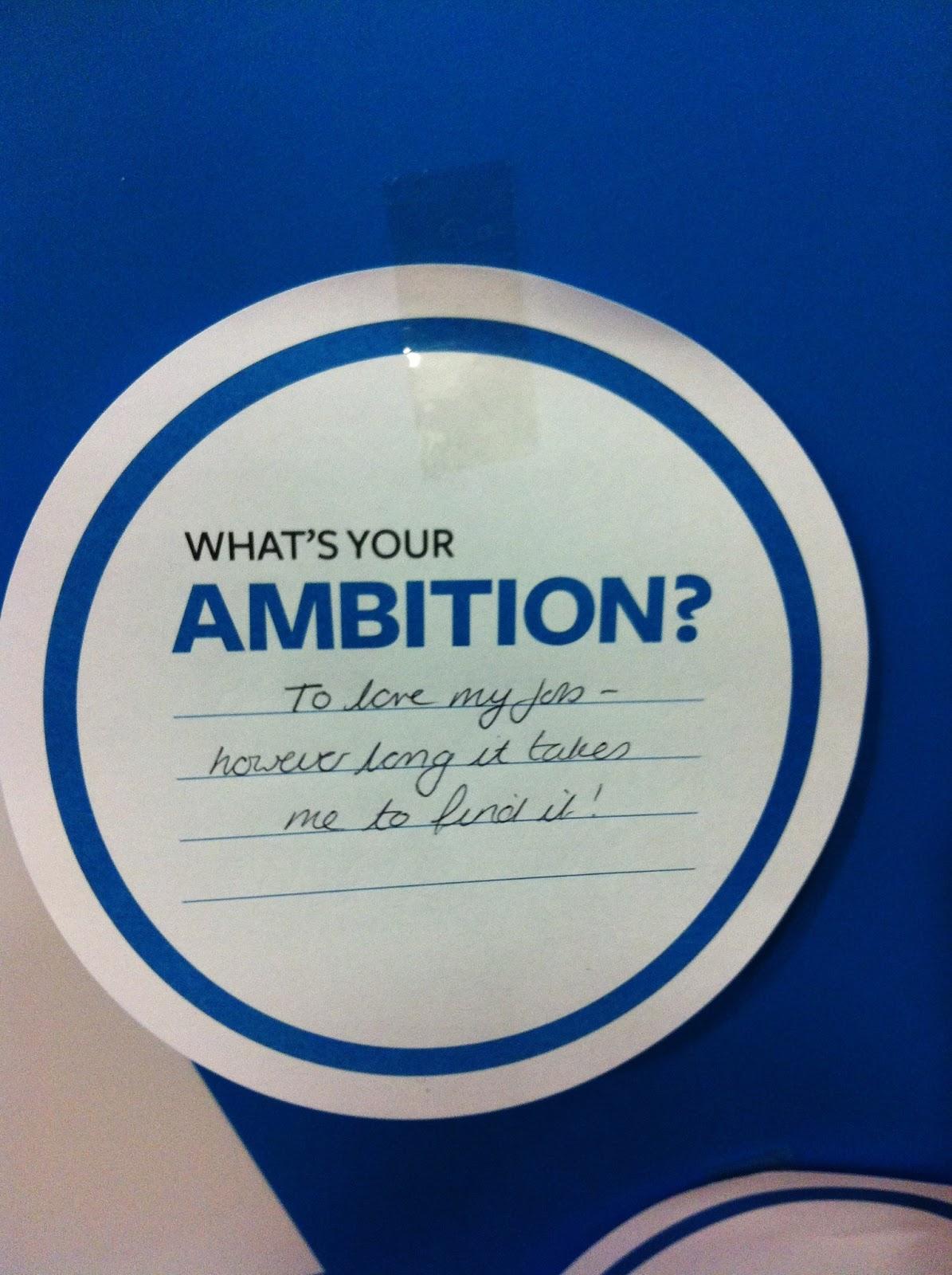 Essay My Ambition