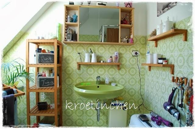 Kroetinchens Blog: Badezimmer & eine Hommage an Moosgrün!