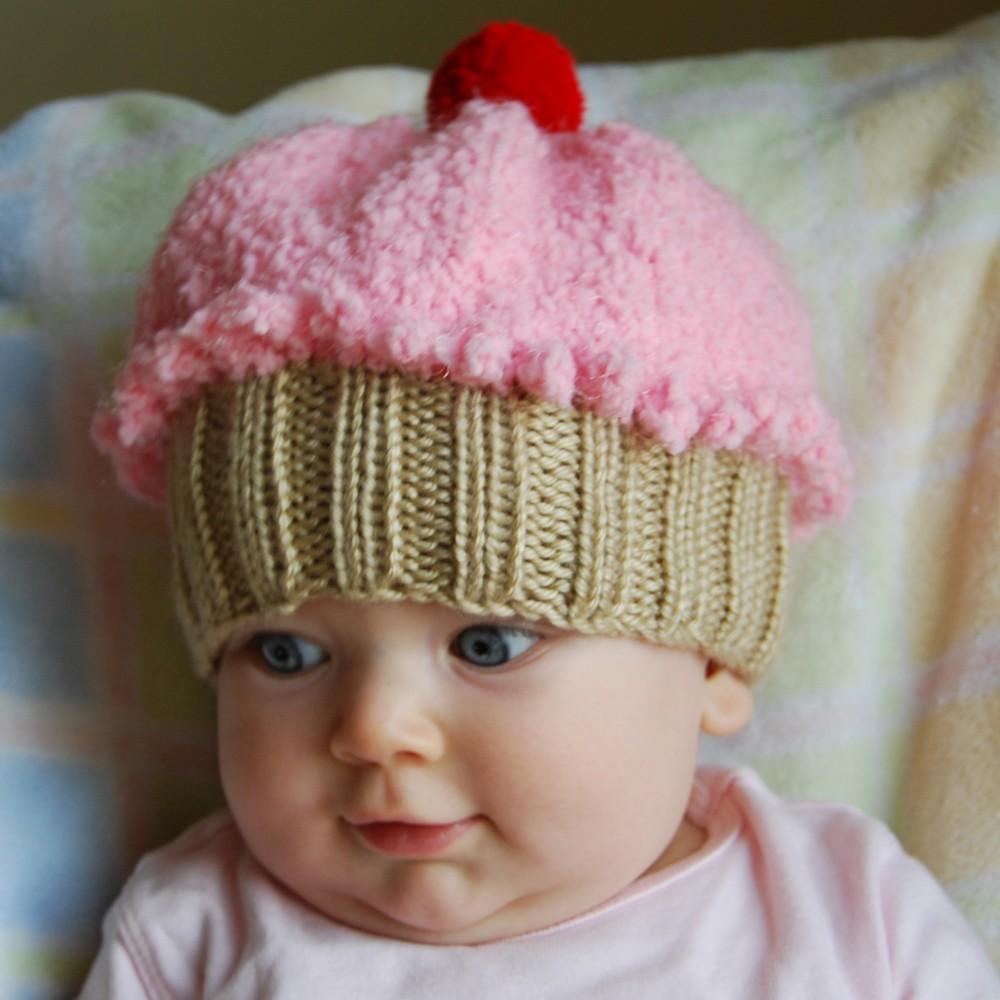 Вязание новорожденных шапочки на девочек 706