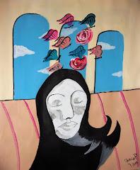 Galería del pintor Martín Ariel Pereira dedicado a Huella del aire