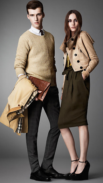 New Burberry collection