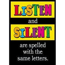 Listen-silent-same-letters