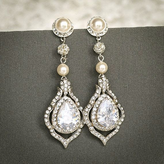 bridal jewelry earrings