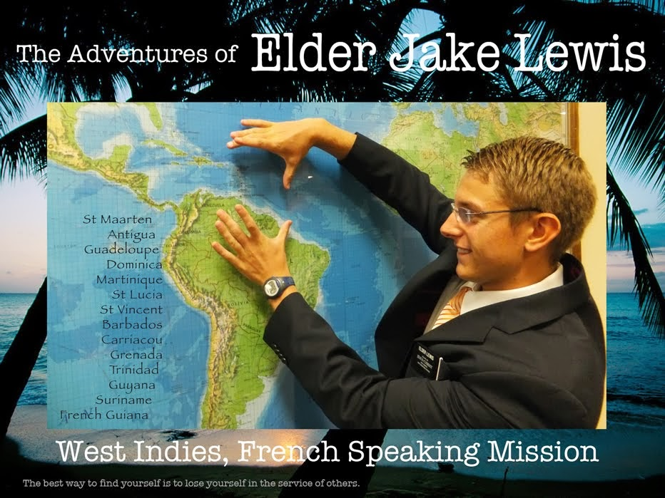 Jake Lewis West Indies Mission