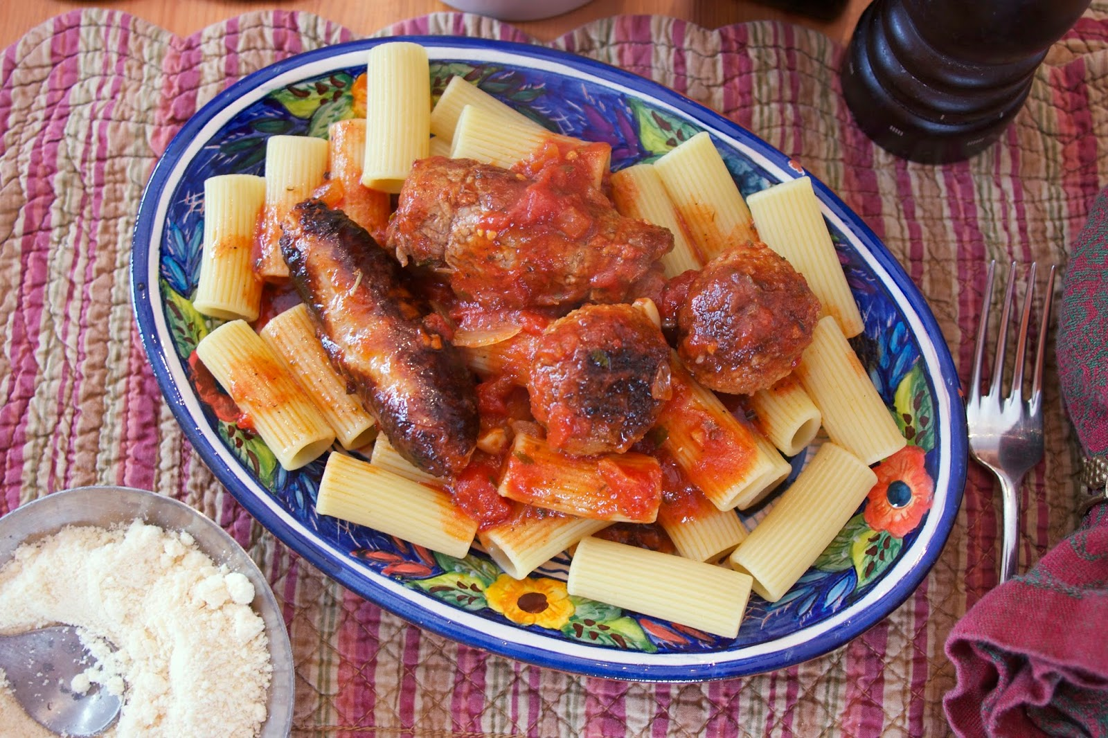 Sunday Gravy- Neapolitan Ragu- simplelivingeating.com