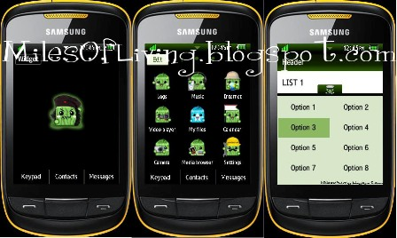 Theme Samsung GT S3850 Corby II Free Download