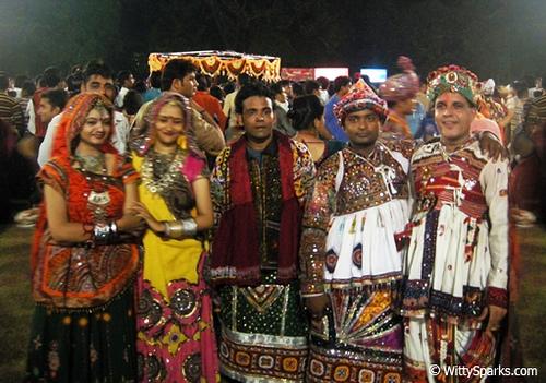 Fantastic Traditional Dress Of GujaratGujarati Folk DressGujarati Wear  How