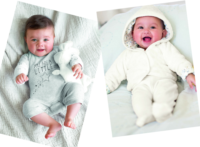 ropa para recién nacidos otoño invierno 2015 c&a