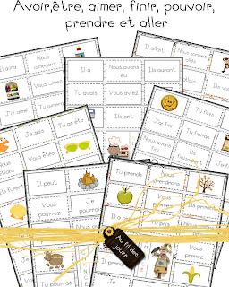 Bingo_verbe verbe dans Français