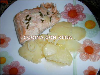 Salmón con patatas BAU5