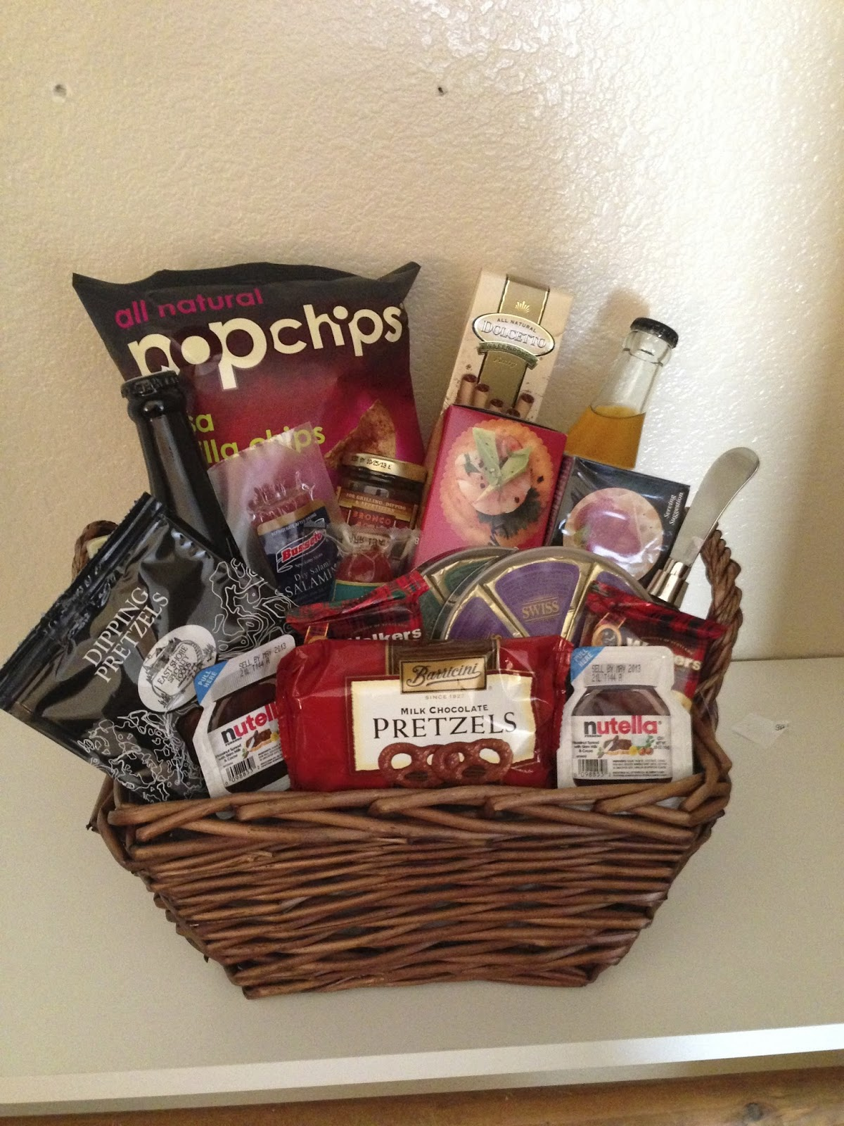 Wedding Gift Baskets For Bride And Groom Ideas : ... Gift Basket or Wedding Night Midnight Snack for Bride and Groom