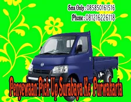 Penyewaan Pick Up Surabaya Ke Purwakarta