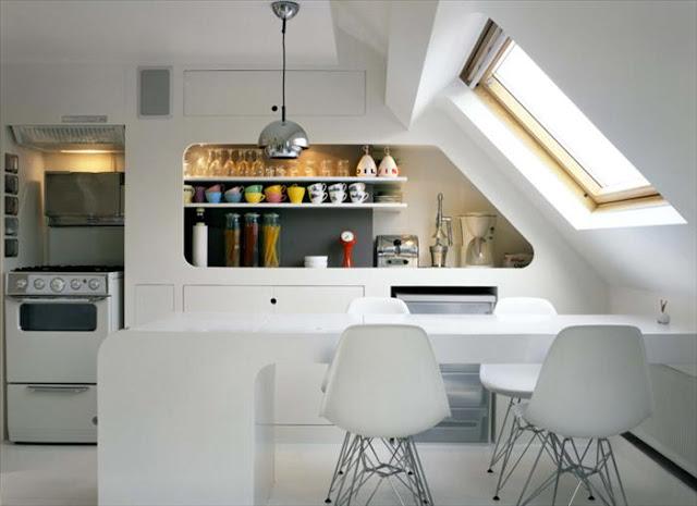 Noir blanc un style for Deco appartement 38m2