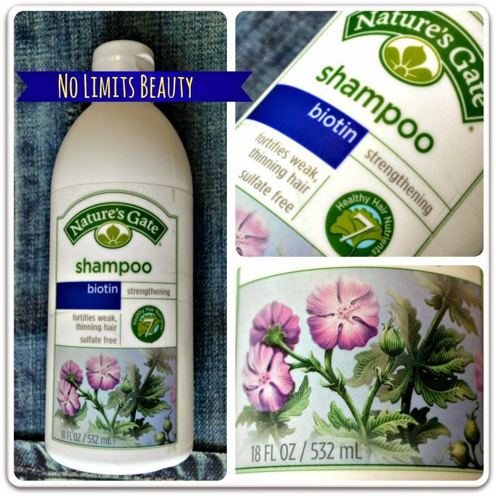 iHerb - Nature's Gate Biotin Shampoo