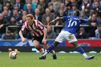 Prediksi Everton vs Sunderland 10 November 2012