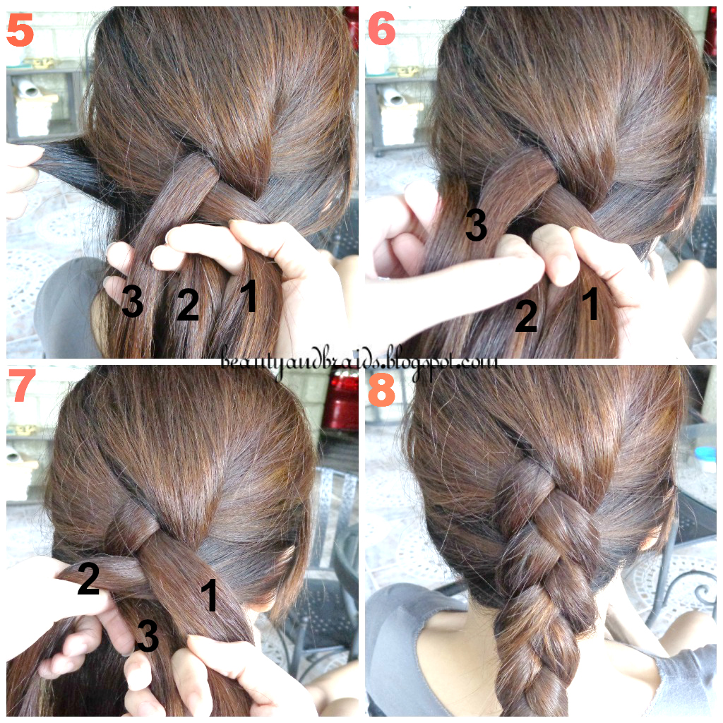 How to dutch braid step by step long hairstyles
