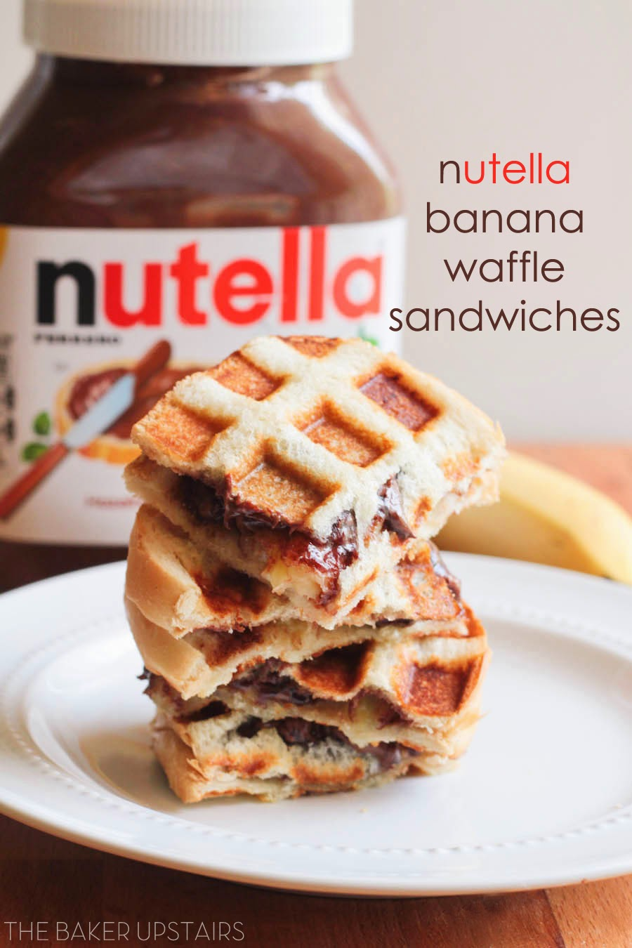 Nutella And Banana Sandwich Recipe — Dishmaps